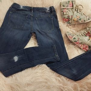 Mossimo low rise skinny jeans used once
